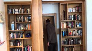 secret bookcase door youtube