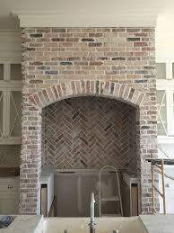 Brick Tile Backsplash Kitchen 25 Best Stove Backsplash Ideas On Pinterest White Kitchen