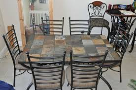 Ashley Furniture Kitchen Table Ashley D  Hyland - Tile top kitchen table and chairs