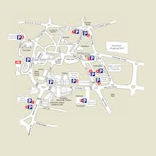 Bucks County Map Map Of Car Parks In Aylesbury Avdc