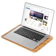 samdi bamboo laptop tray lap desk universal cooling stand sales