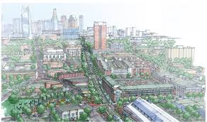 Ashton South End Luxury Apartment Homes by Take A Walk With Me Along Charlotte U0027s Rail Trail Charlotte Agenda