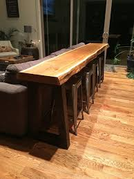 Wooden Bar Table 25 Best Ideas About Bar Tables On Pinterest Bar Height Table