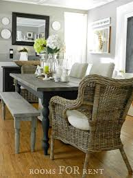 Bench For Dining Room by Our New Farmhouse Dining Table Rooms For Rent Blog
