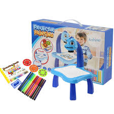 Drawing Desk Kids Arshiner Children Drawing Desk Toy Fun Learning Desk Set