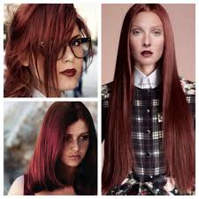 goldwell 5rr maxx haircolor pictures rosewood brown formula on natural level 7 roots goldwell