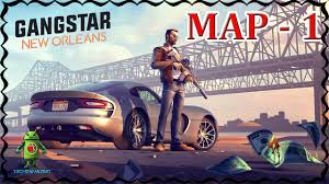 New Orlean Map by Gangstar New Orleans Map Exploration Part 1 Youtube