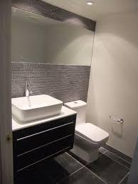Modern Bathroom Sinks Modern Masculine Half Bath
