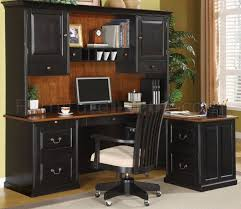 Office Furniture Warehouse Miami by Dark Two Tone Finish Executive Desk W Optional Chair
