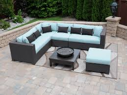 Clearance Patio Furniture Canada Wicker Patio Furniture Black Outdoor Lounge Intended For Prepare 6