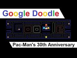 doodle pacman how to access doodle 30th anniversary of pac