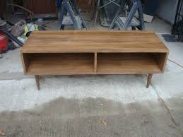 Diy Modern Table Danish Modern Style Tv Stand Coffee Table Easy Diy Imo Home