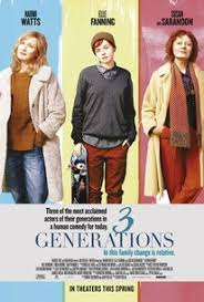 3 generations 2017 rotten tomatoes