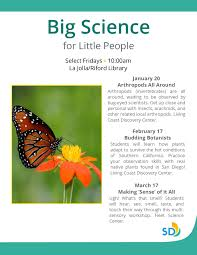 native plants san diego big science for little people budding botanists friday