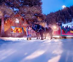 idaho sleigh rides visit idaho