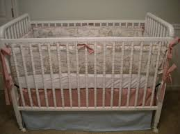 Off White Baby Crib by The Material Girl Custom Sewing U0026 Interior Redesign November 2010