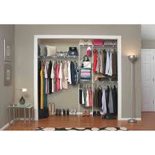 Bedroom Wall Organizer Closetmaid Closet Organizer Kit 5 U0027 To 8 U0027 Walmart Com