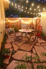 Ideas For A Small Backyard Simple Patio Ideas For Small Backyards Jeromecrousseau Us