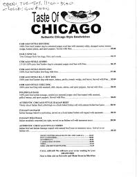 taste of chicago map taste of chicago menu menu for taste of chicago meridian boise