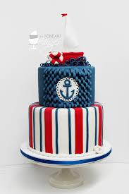 nautical cake nautical 1st birthday cake