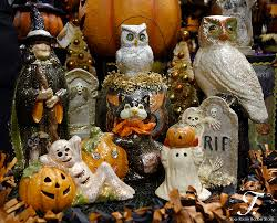 Folk Art Halloween Decorations Teena Flanner Originals And Reproduction Folk Art Collectibles