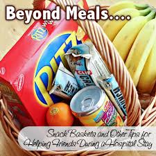 hospital gift basket take them a meal simplifying meal coordination so friends