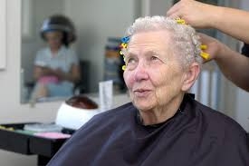 old ladies hair salon the senior hygiene challenge cleaning up and getting ready for