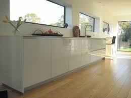cuisine sans poignee charmant cuisine blanc mat sans poignee collection avec cuisine sans