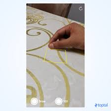 ios arkit tutorial drawing in the air with bare fingers toptal