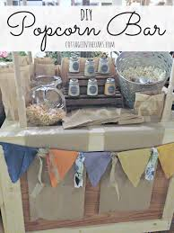 Popcorn Sayings For Wedding Diy Popcorn Bar Ideas Cottage In The Oaks