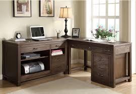 Organizer Desk L Sterling Workstation Desk With L Shape Decor Combined Hardwood