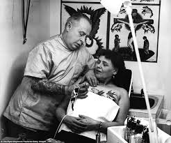stunning vintage photographs of early c20th tattoo artists daily