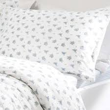 King Size Bed Cover Measurements Blue U0026amp White Floral Bedding Fitted Sheet Or Duvet Cover Set