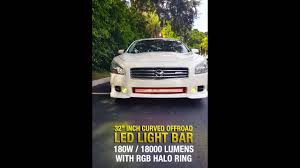 Led Light Bar For Cars by 2009 Nissan Maxima With 32