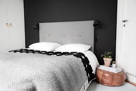 diy headboard with wool padding u2014 note to self