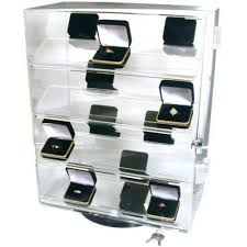 Acrylic Display Cabinet Amazon Com Revolving Rotating Locking Display Case Counter Top
