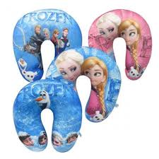 Kids Travel Pillow images Kids character u shaped micro beads travel pillow assorted jpg