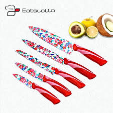 walmart kitchen knives bitossi 6 piece new romic fruit knife set red fruit carving knife