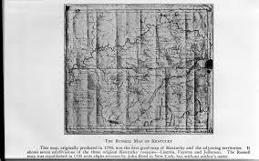Map Of Kentucky Counties Jacob Clover Senior