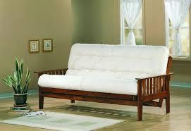 coaster furniture dirty oak wood futon frame and track the