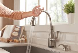types of kitchen faucets how to install a single handle kitchen faucet at the home depot