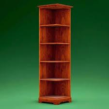 Cherry Corner Bookcase Bookcase Corner Shelf Cherry Wood Corner Shelf Cherry Corner
