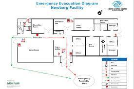 fire evacuation floor plan evacuation floor plans