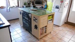comment fabriquer un ilot de cuisine enchanteur comment faire un ilot central cuisine avec ilot cuisine