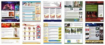 newsletter designs newsletter designs and custom templates