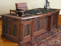 Business Office Desks Executive Office Furniture Traditional Desk Handmade Custom