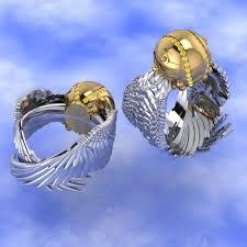 geeky wedding rings culture wedding rings the trend in cad made wedding rings