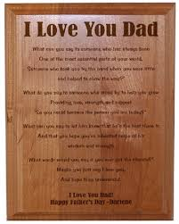 personalized fathers day gifts personalized keepsake plaques for him s day gifts