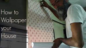 how to wallpaper your house indian consumer youtube