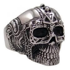 mens metal rings images 19 best punk biker skater heavy metal surfer goth cross skull jpg